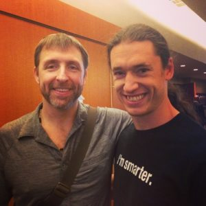 Dave Asprey and Logan